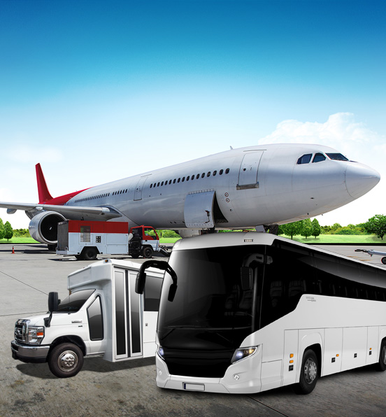 airport charter buses