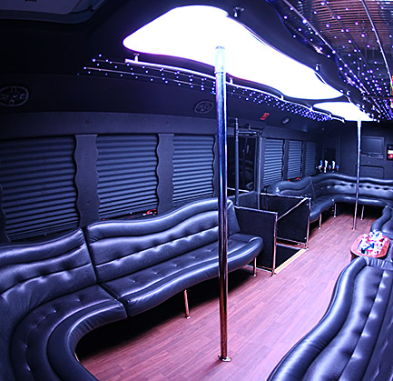 Affordable Party Bus Rental Houston Cheap Charter Bus