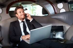 business clients in limousine