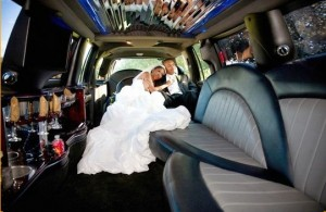 wedding charter bus