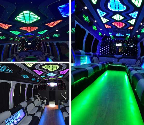 30 – 40 Pax Mega Party Bus