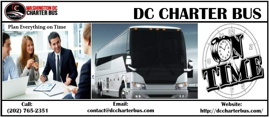 Corporate Charter Bus DC