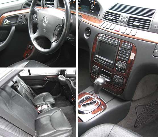 Mercedes S500 Luxury Sedan
